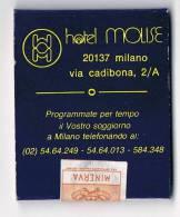 Italia Hotel Molise Milano Vecchia Scatola Di Fiammiferi Pubblicitaria Integra Sigillata - Scatole Di Fiammiferi