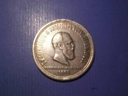 RUSSLAND 1 Rubel Auf Den Krönnung 1883 Alexander III 1881-1894 - Russland
