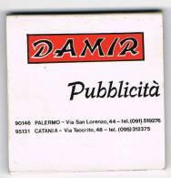"""Italia  Vecchia Scatola Di Fiammiferi Pubblicitaria """"DAMIR"""" Integra - Scatole Di Fiammiferi"""