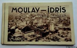 MAROC : MOULAY IDRIS - Carnet Complet De 10 Cpa Sépia - Maroc
