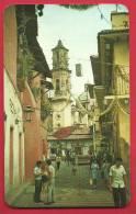 JPX-16 Taxco,Guerrero,Mexico Calle San Agustin Y Iglesia De Santa Prisca,Church,Circ. Vers La Suiza. - Mexiko