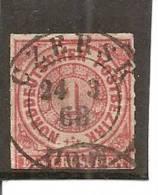 Confederación De Alemania Del Norte Yvert 4 (usado) (o). - Conf. De Alemania Del Norte