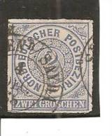 Confederación De Alemania Del Norte Yvert 5 (usado) (o). - Conf. De Alemania Del Norte