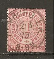 Confederación De Alemania Del Norte Yvert 15 (usado) (o) - Conf. De Alemania Del Norte