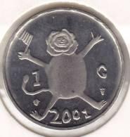 @Y@  Nederland  100 Cent  / 1  Gulden 2001  Beatrix  LAATSTE GULDEN   (2158) - [ 3] 1815-… : Kingdom Of The Netherlands