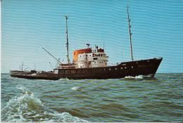 A0075 M Si B HOLLAND, Postcard (ship, Boat) - Tugboats