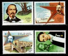 Cuba MNH  Scott 3511-14 Moncada - Cuba