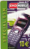 MAYOTTE - EKO Mobile, XTS Telecom Prepaid Card 10 Euro, Tirage 5000, Used - Telefoonkaarten