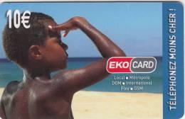 MAYOTTE - EKO Card By XTS Telecom Prepaid Card 10 Euro, Tirage 15000, Used - Télécartes
