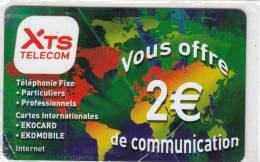 MAYOTTE - XTS Telecom Promotion Prepaid Card, Tirage 15000, Mint - Télécartes