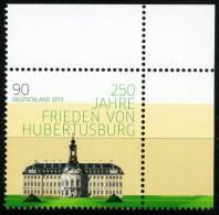 BRD - Michel 2985 Eckrand Oben Rechts - ** Postfrisch - 90C Frieden Von Hubertusburg - Ungebraucht