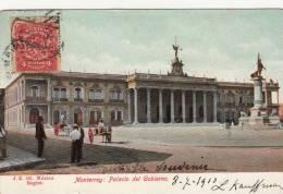 Monterrey, Messico: - Palacio Del Gobierno - Used 1910 - Mexico