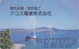 Télécarte Japon / 110-221 - Pont Sur La Mer - Bridge Japan Phonecard - Brücke Telefonkarte - MD 701 - Landschappen