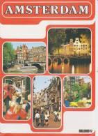(BR) Brochure About Amsterdam (The Netherlands) In Esperanto - Broŝuro Pri Amsterdamo (Nederlando) - Boeken, Tijdschriften, Stripverhalen