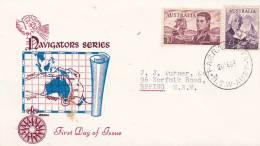 Australia 1964 Navigators  Flinders & Bass, Royal, FDC - FDC