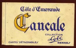 Carnet Cpa Cancale Collection Loïc  7 Sur 10  Toutes Les Cpa Scannées  EUG23 - Cancale