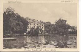 6214 - Pension Beau-Séjour Au Lac Lucerne Vue Depuis Le Lac - LU Luzern