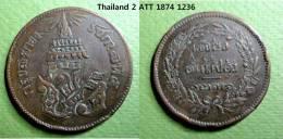 2 ATT THAILAND 1874 - 1236.  Thailande - Thaïlande