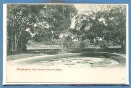 ASIE - SINGAPORE --  Bot. Garden Victoria Regia - Singapour