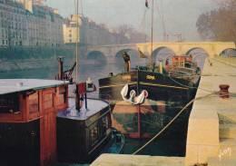 PARIS La Seine Au Pont Marie  * Livraison Gratuite * - Arrondissement: 04