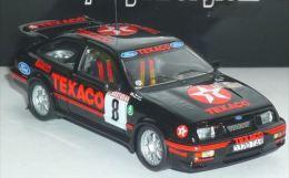 Ford Sierra Cosworth - Texaco - Mark Lovell/Freeman - Rally Of Ypres 1987 #8 - Trofeu - Trofeu
