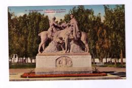 MAROC CASABLANCA Monument Aux Morts - Casablanca