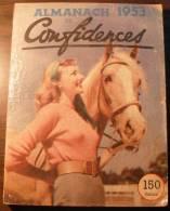 Almanach Confidences 1953 - Livres, BD, Revues