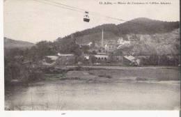 ALES 13 MINES DE FONTANES ET CABLES AERIENS - Alès