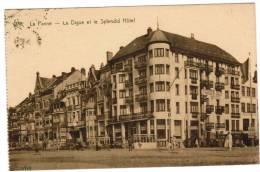 De Panne, La Panne, La Digue Et Le Splendid Hôtel (pk8734) - De Panne