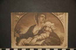 CP, Arts, Peinture, Musée De Lille La Science Par Veronese N°15 Edit LL Dos Simple Precurseur 1903 - Pintura & Cuadros