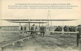 Dép 72 - Ref 46 - Aviation - Avions - Aviateurs ( Delagrange - Farman ) - Le Mans - Essai Du Moteur Avant Le Départ - Le Mans
