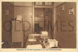 PORTUGAL - LA PRÉSERVATRICE - GABINETE DO PERITO-LIQUIDATÁRIO - 40S PC. - Portugal