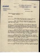 Entête  20/10/1924  -  MONTREAL  ( Canada )  QUEDRUE  &  DUBOSC  Agents  Maritimes  -  Paquebot - Canada