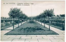De Panne, La Panne, Cimetière Militaire Belge, Route D'Adinkerke (pk8767) - De Panne