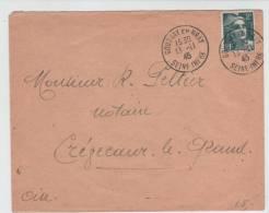 France Cover Sent To Oise Gournay En Bray 13-11-1945 - France