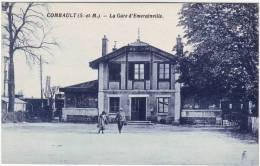 77 Combault La Gare D'Emerainville - Autres Communes