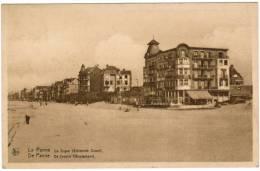 De Panne, La Panne,  De Zeedijk, Westerkant (pk8782) - De Panne