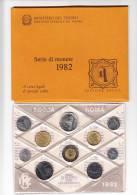 ITALIA 1982 - Serie  Completa 10 Monete In Confezione Originale IPZS - 1946-… : Repubblica