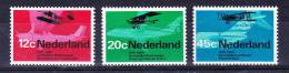 NETHERLANDS  1968 , Aviation   Y&T #  874 / 6   , Cv 2,30 E ,   ( Y&T 2004 )  ** M N H , V V F - Periodo 1949 - 1980 (Giuliana)