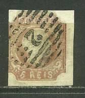 Portugal D.Pedro #10  Used - L423 - 1855-1858 : D.Pedro V