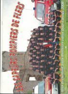 Vieux Papier :  Calendrier  :  Pompier  FLERS   2008 - Calendars