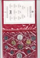 ITALIA 1992 - Serie  Completa 11 Monete In Confezione Originale IPZS (Piedo Della Francesca) - 1946-… : Repubblica