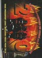Vieux Papier :  Calendrier  :  Pompier  CONDE  Sur  NOIREAU  2010 - Grand Format : 2001-...