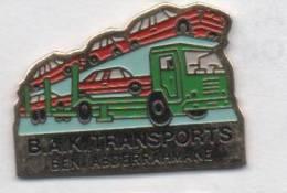 Transport Camion , Porte Voitures , Auto , B.A.K. Transports , Ben Abderrahmane - Transportation