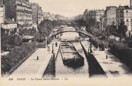 Paris - Le Canal Saint-Martin - Francia