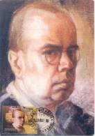 "Portugal 1999 "" Jaime Martins, Peintre "" Carte Maximum Yvert 2360 - Arts"