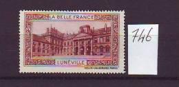 FRANCE. TIMBRE. VIGNETTE. BELLE FRANCE. BELLE FRANCE. CHATEAU.............LUNEVILLE - Erinnophilie