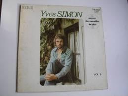 """33 Tours 30 Cm - YVES SIMON  - RCA 440761   """" AU PAYS DES MERVEILLES DE JULIET """" + 10 - Vinyl-Schallplatten"""