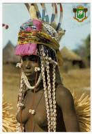 REPUBLIQUE DE COTE D'IVOIRE - BOUNDIALI - JEUNE DANSEUSE - YOUNG DANCER - 1982 - Danses