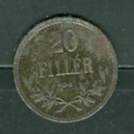Hongrie 20 Filler  Année 1917 - Laura 7502 - Hungría